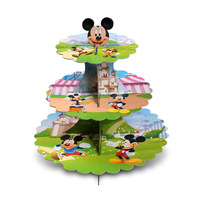 DIY Mickey Mouse Cupcake Stand Cupcake Holder Cake Stand Girl Kids Birthday Party Supplies Party Favor