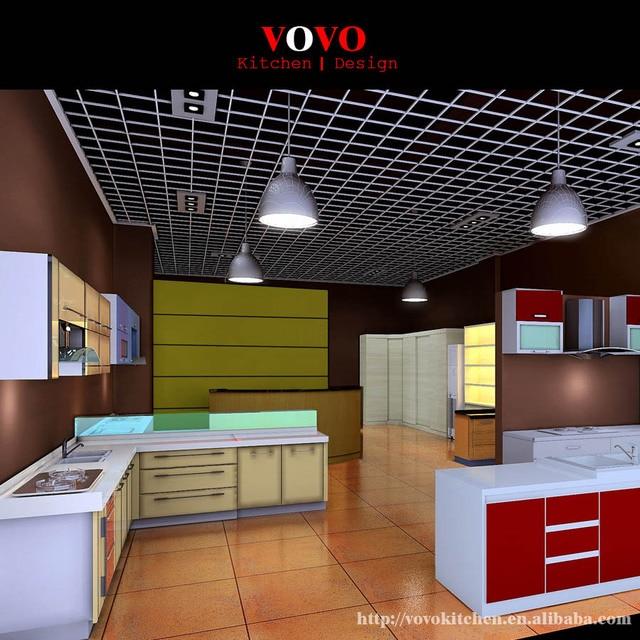 Commercio all\'ingrosso affodable moderni mobili da cucina in ...