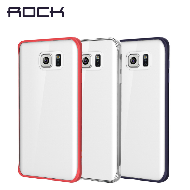 for samsung galaxy note 5 case luxury cover, Rock tpu frame+ pc back cell phone cases note5 free shipping-in Fitted Cases from Cellphones
