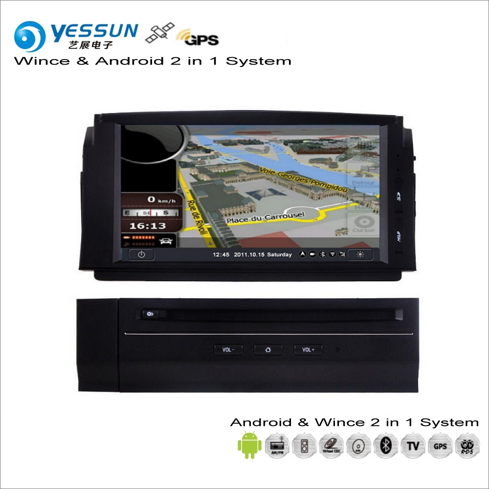 YESSUN For Mercedes Benz C Class W204 2007~2011 Car Android Multimedia Radio CD DVD Player GPS Map Navigation Audio Video Stereo