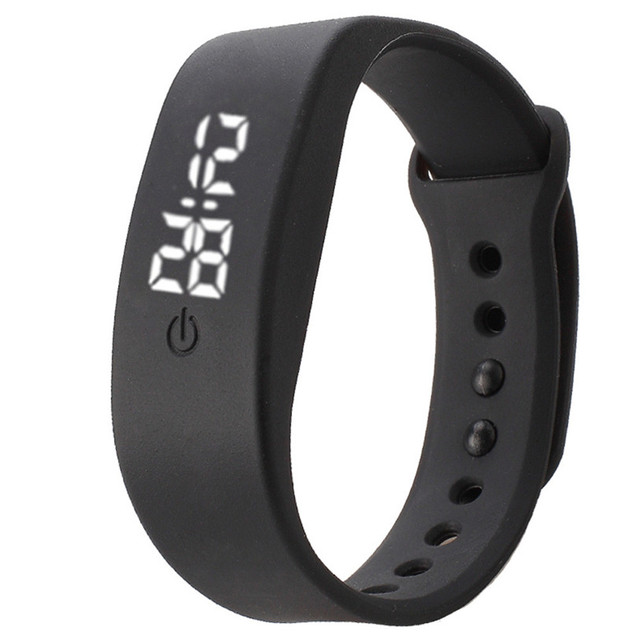 Hot2017 Womens Mens Rubber LED Watch Date Sports Bracelet Digital Wrist Watch Gi