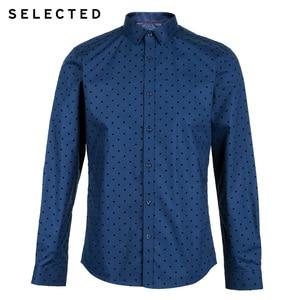 Image 5 - Camisa masculina selecionada 100% algodão reunindo pontos s