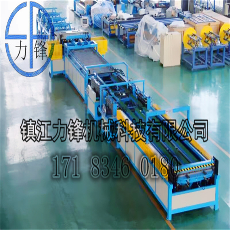 China affordable auto duct line v , duct forming machine , air duct tube manufacture auto line