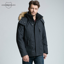 MARC NEW YORK ANDREW MARC 2016 Winter New Style Men Business Wool Blends Business Casual Outwear Coats Jackets man TM6AW192
