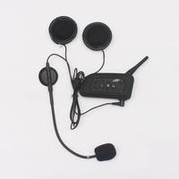 1 Pcs V6 BT Multi Interphone Bluetooth Intercom Motorcycle Wireless Headphones Accessories 1200M Helmet Headset 6