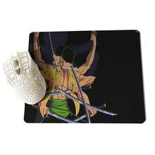 One piece Roronoa Zoro Gaming Mousepads 25X29cm