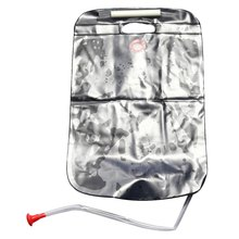 New 20L / 5 Gallons Solar Energy Heated Camp Shower Bag Utility Water Storage Outdoor Camping Hiking PVC Black Shower Water Bag