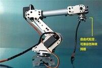 Промышленный робот A688 механическая рука 100% сплав манипулятор 6 оси робота Подставка для рук с 6 сервоприводов