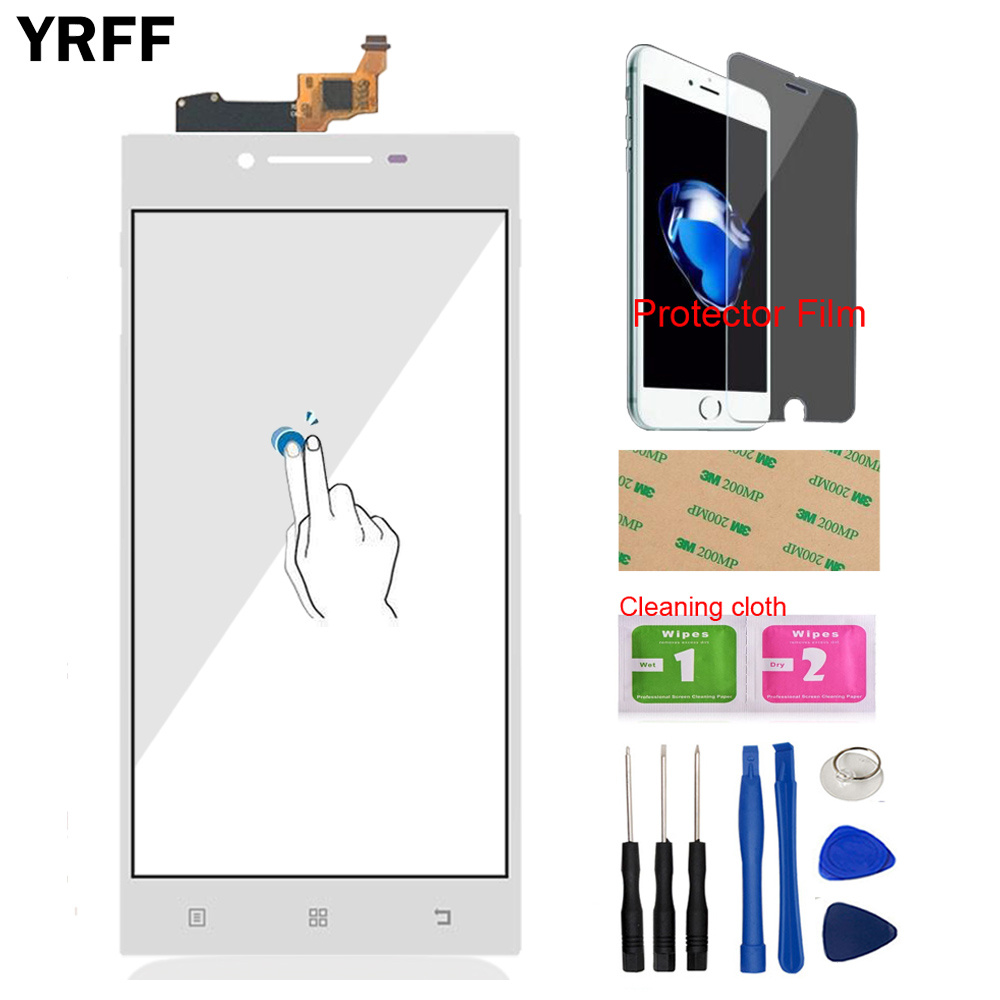 Image 3 - YRFF 5.0 For Lenovo P70 P 70 Touch Digitizer Screen Front Glass Phone Part Smartphone Panel Repair Tools Protector Film Adhesive-in Mobile Phone Touch Panel from Cellphones & Telecommunications
