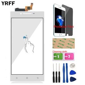 Image 3 - YRFF 5.0 Lenovo P70 P 70 dokunmatik sayısallaştırıcı ekran ön cam telefon bölümü akıllı telefon paneli tamir araçları koruyucu Film yapıştırıcı