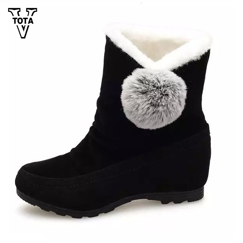 VTOTA Classic Snow Boots Women Winter Warm Fur Plush Insole Shoes for Women Ankle Boots Flat With Shoes Woman Flats Botas Mujer analysis of tp53 and promoter hypermethylation of mgmt in lung cancer