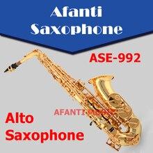 Eb tone / Brass body Alto Saxophone (ASE-992)