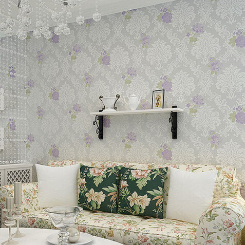 Beibehang High Quality Modern Luxury 3d Wallpaper Roll For Wall Flower  Papel De Parede Tapete For Bedroom Wallcovering R446 In Wallpapers From  Home ...