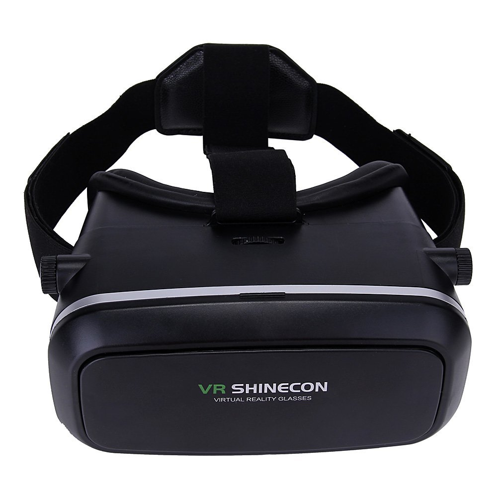 2016 HOT 3D font b VR b font Glasses 3D Virtual Reality with Adjustable Lens and