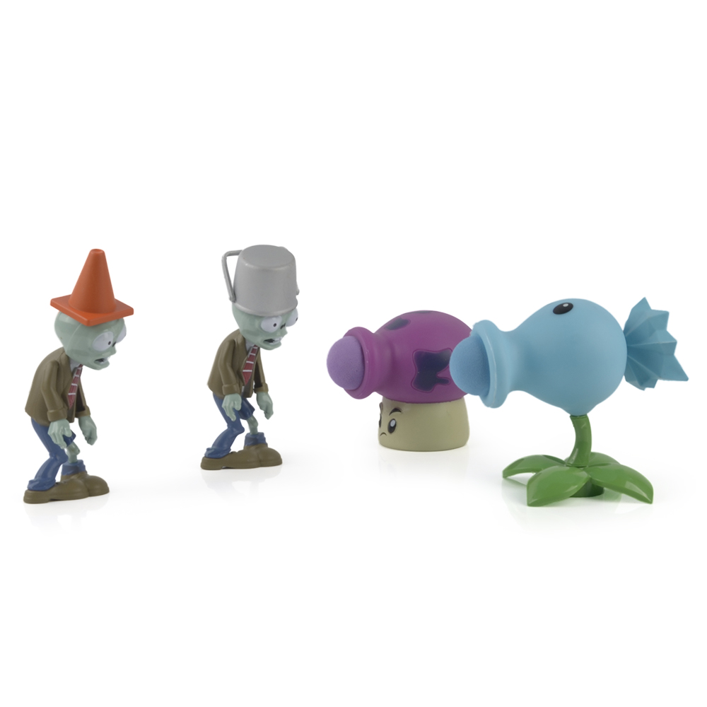 ALI shop ...  ... 32858573374 ... 4 ...  Plants VS Zombies PVC Action Figure Set Collectible Mini Figure Model Toy Gifts Toys For Children High Quality Brinquedos ...
