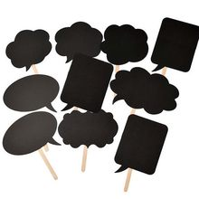 DIY Black Mr Mrs Paper Board with Bamboo Sticks Sign Photo Booth Props Wedding decoration Party Favor photocall(China)