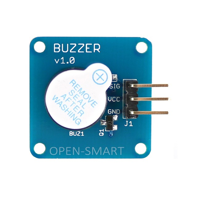 Active Buzzer Module High Level DC Buzzer Alarm module For Arduino