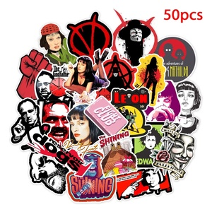 50pcs Classic Movie Pulp Ficti