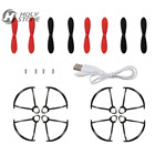 Holy Stone HS190 HS190W RC Drone Replacement Parts Sets Quadcopter Charging Cable Propeller Spare Parts Accessories Crash Pack