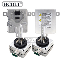 HCDLT 55 W D1S ксеноновых фар ксенона D3S HID лампы балласт Kit 6000 K 4300 K 8000 K 5000 K D1S D1R D3R D3S Авто лампы фары