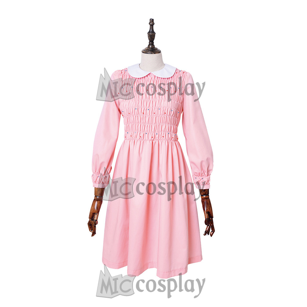Tienda Online Stranger things eleven Vestido Mujer chica Rosa ...
