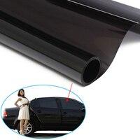 Hot Sale Cars Window Foils Solar Protection Ultra Limo Black Window Tint Film VLT 1 Auto