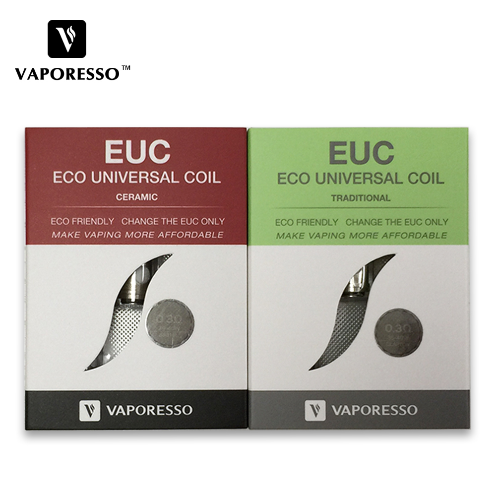Vaporesso Ceramic Euc Coil 0 3ohm Vs Traditional Euc For Tarot Nano Veco One Veco Plus Tank Estoc Tank Mega Estoc Tank