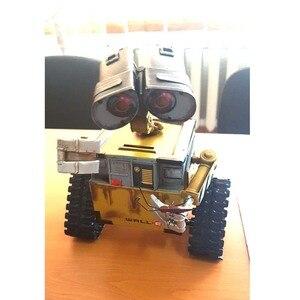 Image 5 - ウォール e ロボット映画モデル冷間圧延鋼金属アクションフィギュア玩具人形 robote 手作り工芸品 juguetes figuras ゴキブリ壁 e