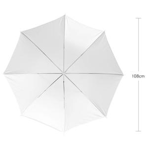 "Image 2 - Godox professional 43 ""108 cm 흰색 반투명 소프트 우산 사진 스튜디오 플래시 라이트"