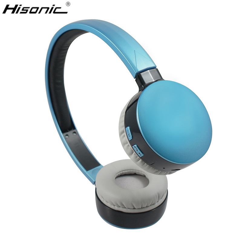 Hisonic Bluetooth Headset Wireless Headphones Stereo Sport Earphone Microphone Gaming Cordless Auriculares Audifonos