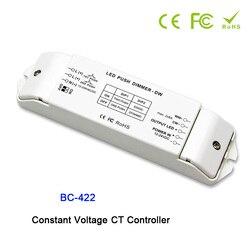 BC-422 CV PWM CT kontroler przełącznik DIP i Duplex Push Dim przycisk DC12V-24V wejście; 8A * 2CH wyjście dla taśma led light