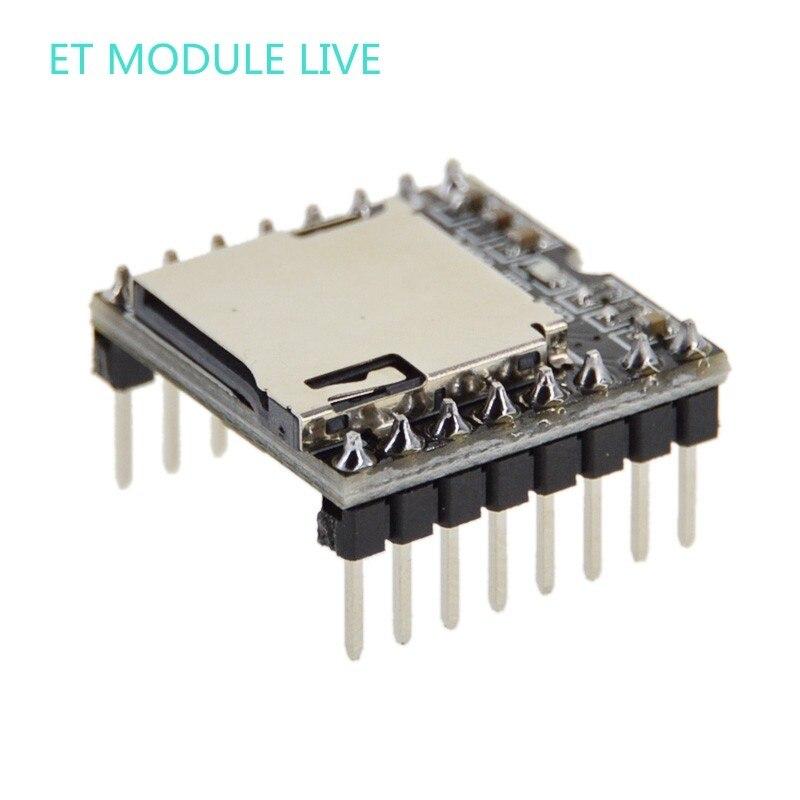 MH-ET LIVE мини mp3-плеер модуль TF карта U диск мини mp3-плеер аудио голосовой модуль плата для Arduino DF Play