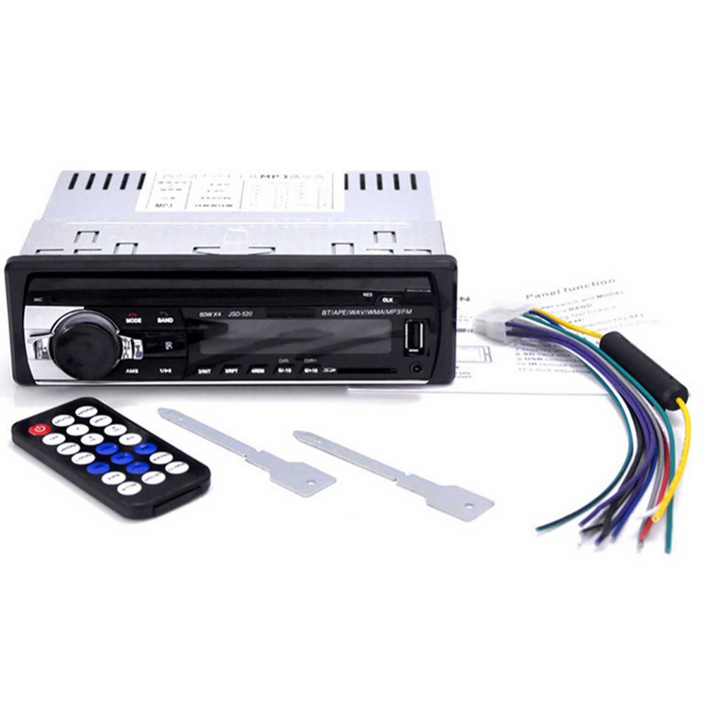 JSD520 Autoradio autoraadio 12V Bluetooth V2.0 autostereo - Autode Elektroonika - Foto 5