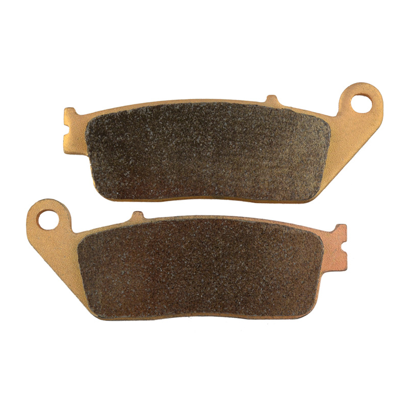 Motorcycle Brake Parts Copper Based Sintered Brake Pads For HONDA CB400 Four NC36 1997-1998 Front Motor Brake Disk #FA142 electronic sensor beads magic props black silver