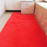 100 200cm Fashion Carpet Sofa Mats Bedroom Floor Carpet Warm Colorful Living Room Floor Rugs Slip