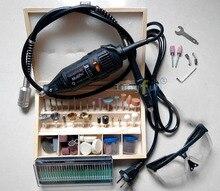 Dremel Hardware de velocidad Variable Rotary tool, Mini taladro, con 139 unids accesorios eje del tubo Flexible y práctico regalo envío gratis