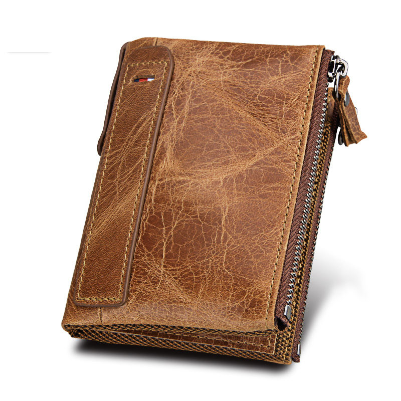 2018 Genuine Leather Women Wallet And Purses Coin Purse Female Small Portomonee Rfid Walet Lady Perse For Girls Money Bag b184