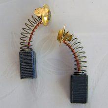 Mini perceuse électrique broyeur remplacement balais de carbone pièces de rechange pour moteurs électriques Dremel outil rotatif 10 pièces