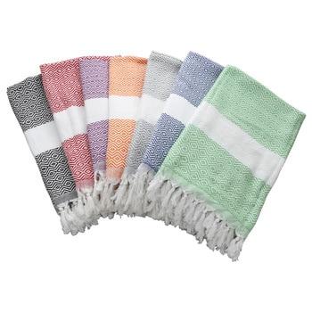 Summer Cotton Quick-Dry Shower Bath Towels Striped Beach towel Toalla playa Fouta towels Tassel Scarf Turkish Towel for Adult