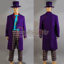 Cosplaydiy Custom Made Movie Cosplay The Dark Knight Joker Cosplay Costume Suit For Halloween Cosplay Costume J5