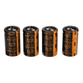 2019 New 4pcs 3*5cm Replacement Electrolytic Capacitor For ELNA AUDIO 63V 10000UF Drop ship High Quality image