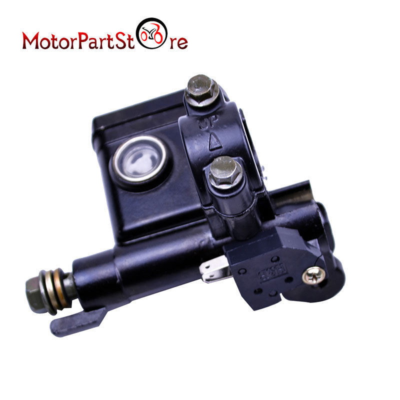 10mm Front Right Hydraulic Brake Master Cylinder 125cc PITPRO Quad Dirt Bike ATV  Motorcycle Motocross Scooter @20
