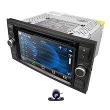 """2019 DVD Trên Ô Tô 7 """"Đồng hồ định vị GPS Cho Xe Ford Focus Quá Cảnh C-MAX Mondeo Fiest GPS Dẫn Đường Liên kết DAB   Tặng camera sau 8 G Thẻ Bản Đồ"""