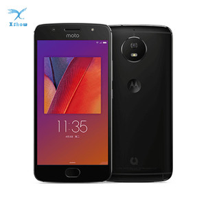 Image 1 - מוטורולה MOTO ירוק פומלו XT1799 2 G5S נייד טלפון 5.2 Snapdragon8937 אוקטה Core 4G RAM 32G ROM 16MP אנדרואיד 7