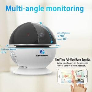 Image 5 - Graneywell wi fi IP カメラ 1080P Bluetooth スピーカーミニカメラスマートナイトビジョン Videcam ベビーモニタービデオ監視カメラ
