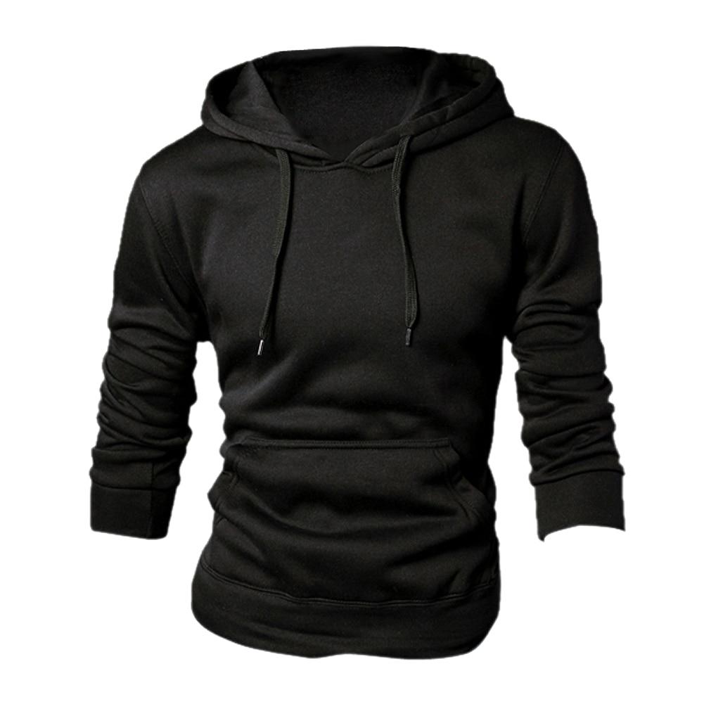 SAF-New spring/autumn Mens fashion Casual Hoddies Sweatshirts High Quality Men sportswear solid Fleece hoody 5-COLORS