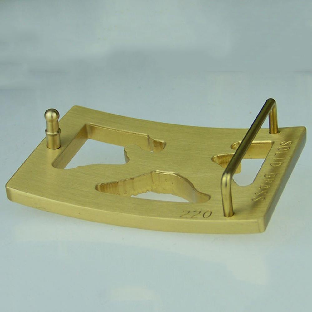 FAJARINA Men Designer Fly Eagle Pattern Slide Styles Buckles Brass Smooth Style Belt Buckle Only for 3.6-3.9cm Wide Belts BCK017