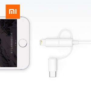 Image 4 - Xiaomi Original 3 in 1 Data Cable 100cm MFI For Lightning Micro USB Type C Official Certification For Android and iPhone