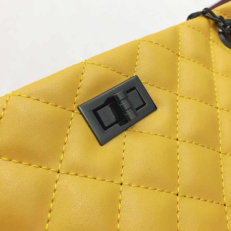 Plaid Crossbody tassen voor vrouwen 2019 Grote Vrouwelijke Handtassen Designer Zwart Wit Lederen Messenger Tote Bag sac belangrijkste femme