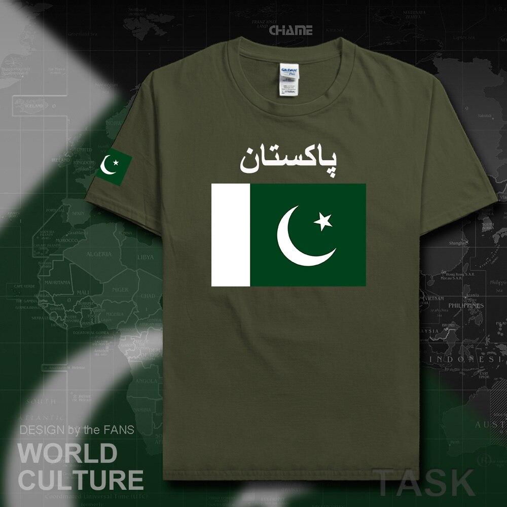Shirt design in nigeria - Pakistan Men T Shirt 2017 Jerseys Nation Team Tshirt 100 Cotton T Shirt Clothing